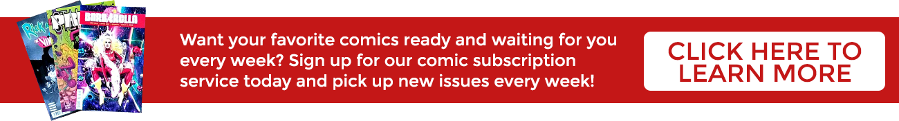 Comic Subscription Service