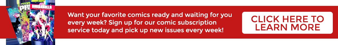 Comic Subscription Service